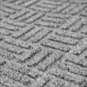 Tapetes de plástico gris