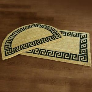 Tapetes de fibra de coco