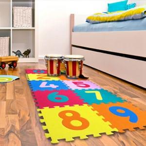 Piso de colores para Niños