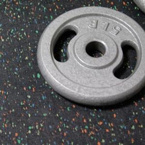 Pisos de llanta en rollo para gimnasio