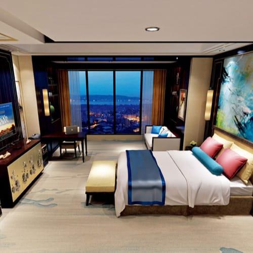 ↠ Alfombra para Cuartos de Hotel