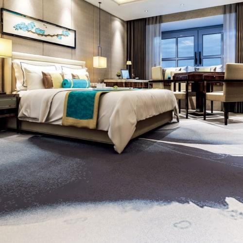 Alfombras para dormitorios de hotel