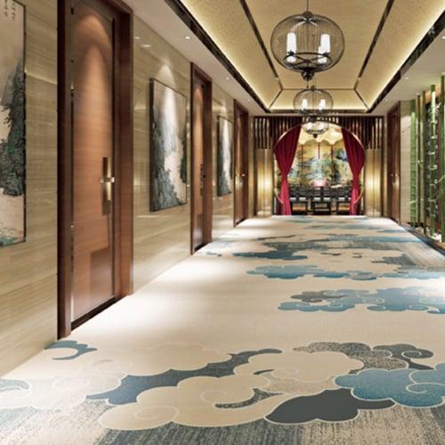 Alfombras para pasillos en hoteles y casinos