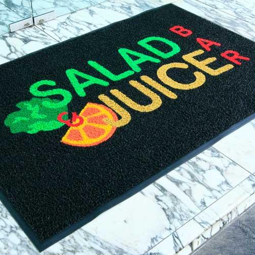 alfombras de entrada con logotipo