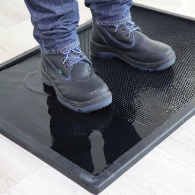 Tapete sanitizantes, alfombra sanitaria
